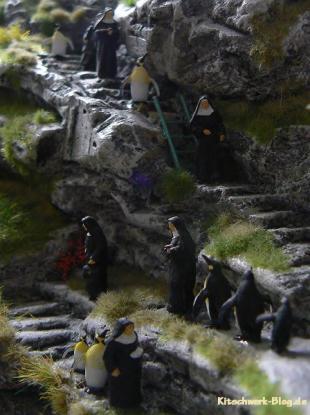 Miniatur Wunderland Nonnen und Pinguine