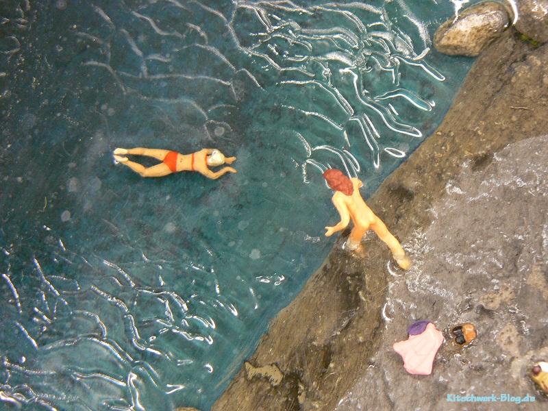 Miniatur Wunderland Schwimmer