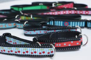 Nähen für den Tierschutz Halsbänder 1