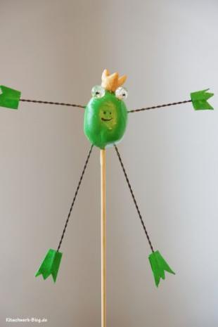 Frosch Blumenstecker
