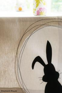 Tischläufer Hase
