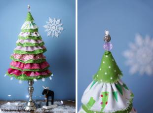 Weihnachten, Oh Tannenbaum selber nähen