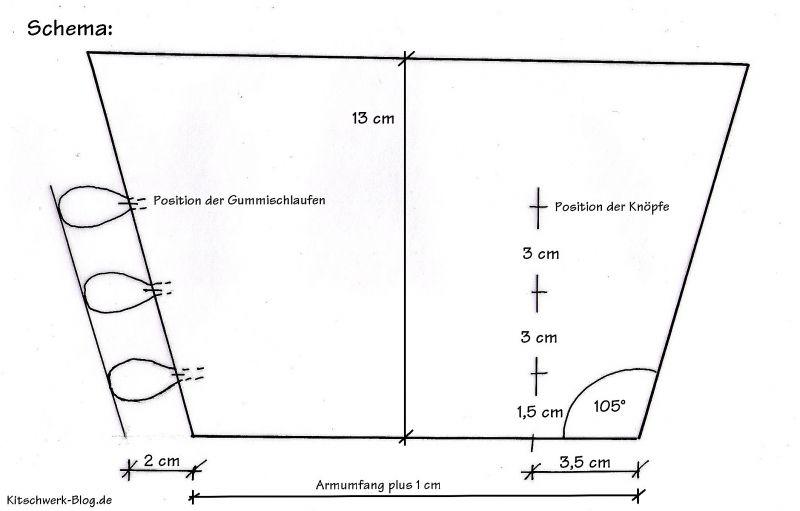 DIY: Manschetten - kitschwerk-blog.de
